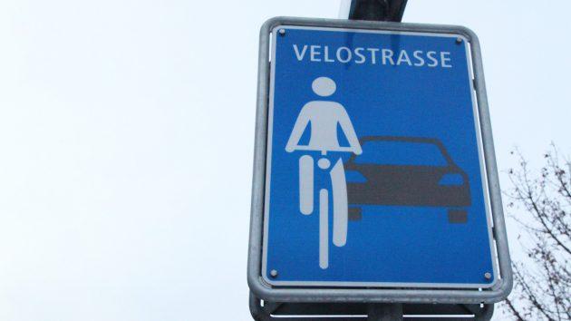 Velostrassen für Zürich
