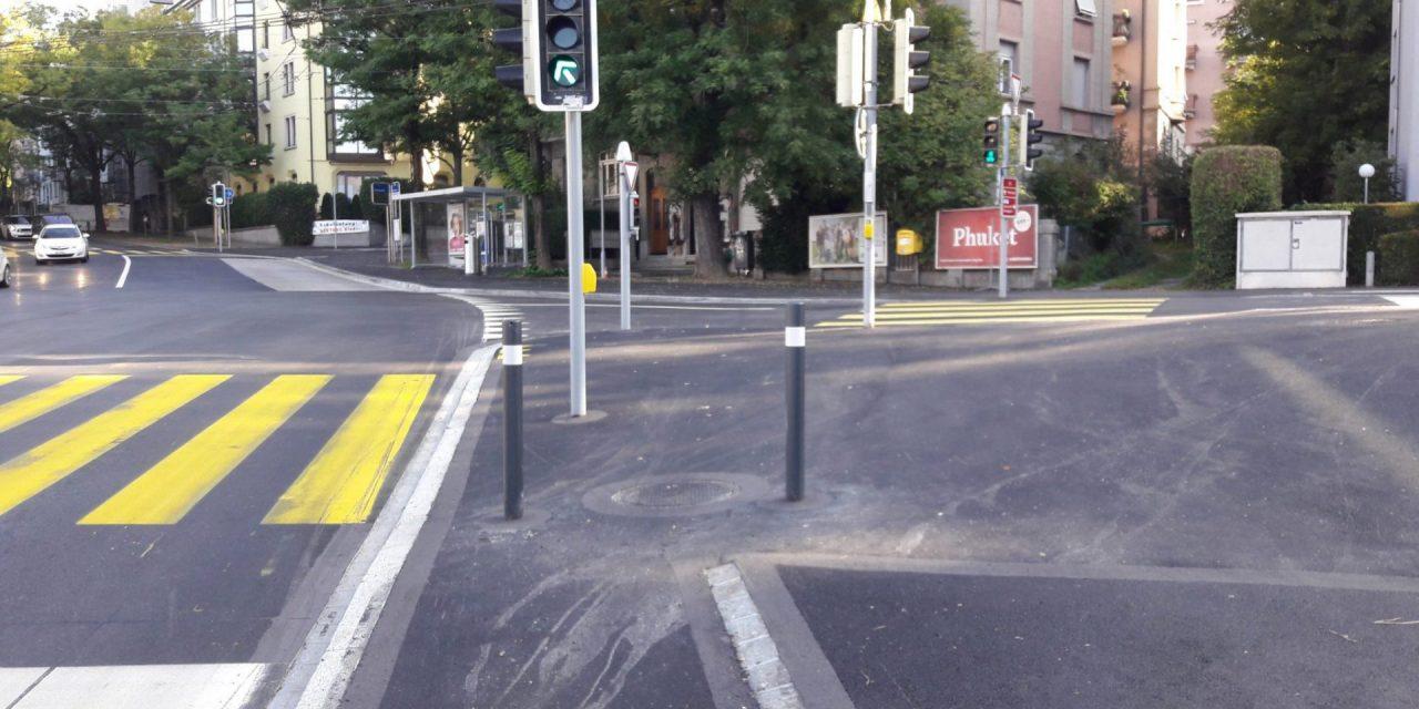 Kurzer Murks in Unterstrass