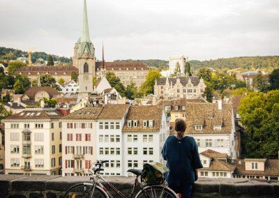Pro Velo - Instameet vom Lindenhof in die Altstadt blicken von @iphotography_ch