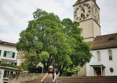 Pro Velo - Instameet Treppenabfahrt von @provelozuerich