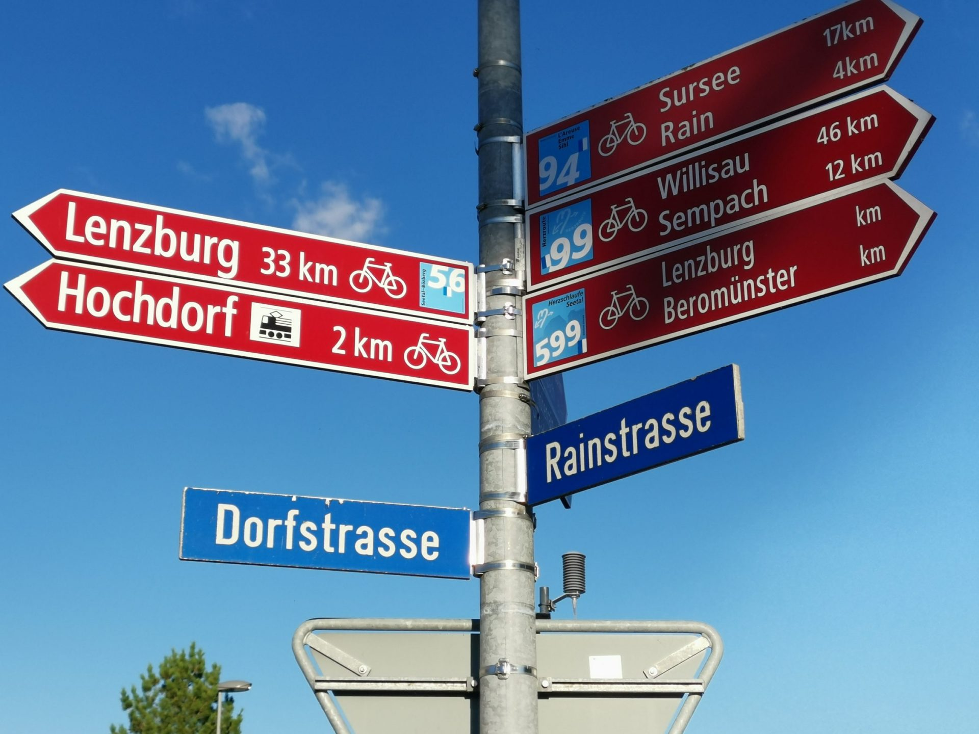 Wegweiser Schweiz Mobil Veloreisen Schweiz Veloferien Tourenvelo Fahrradreisen Reisen mit dem Velo