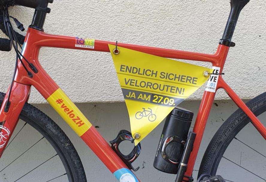 Velorouten Initiative Velo Stadt Zürich Sicherheit Verkehr