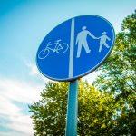 Sind Velofahrende eine Gefahr für Fussgänger?