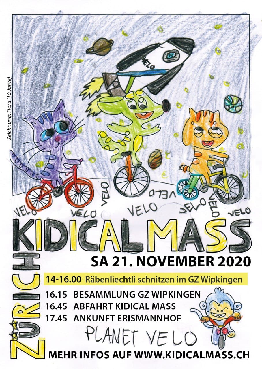 Kidical Mass in Zürich