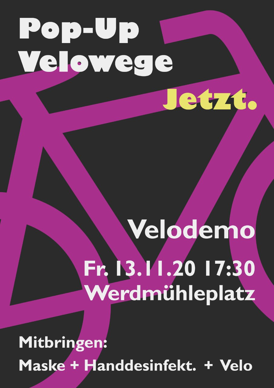 Pop up Velowege