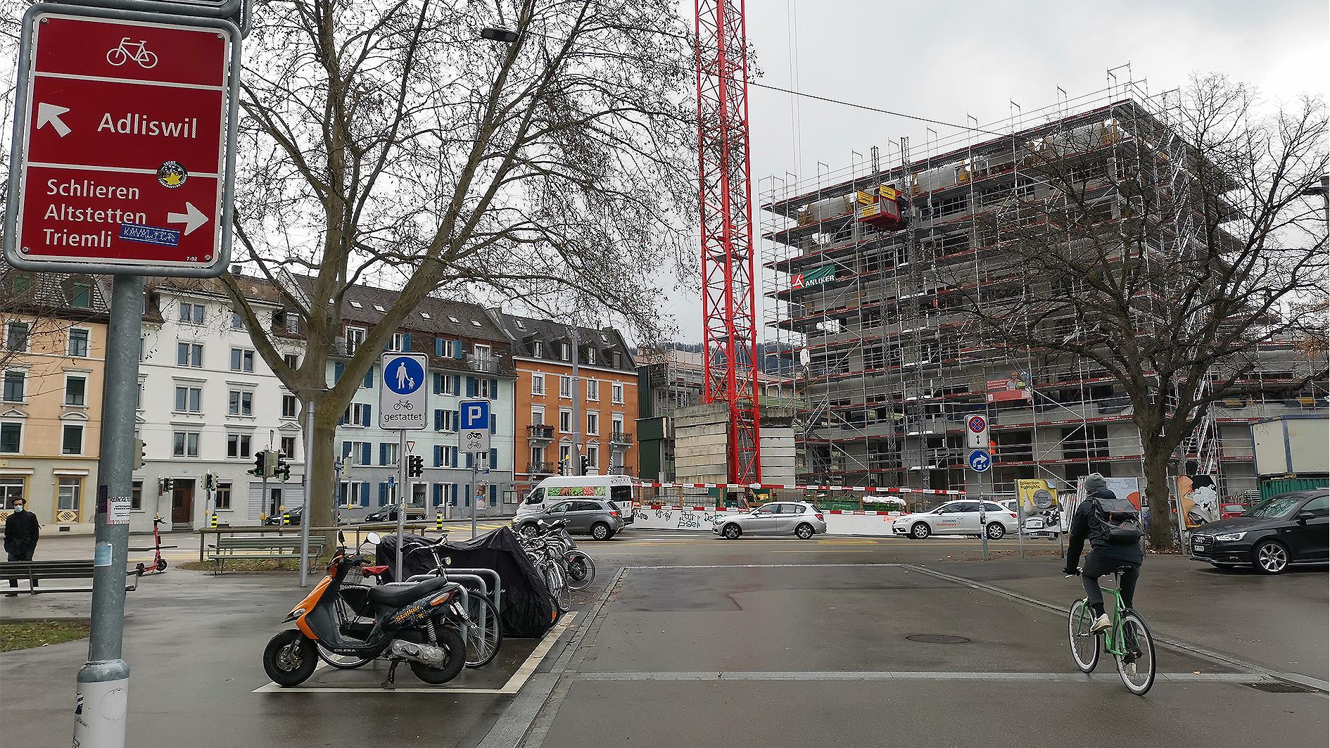 Einwendung: Knoten Bertastrasse Gutstrasse: